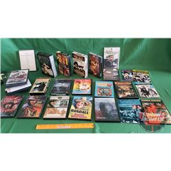 Tote Lot: DVD's Western Theme (Incl Box Sets) (33) + 1 VHS
