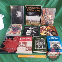 Tote Lot: 10 Books (Country Theme) (See Pics for Titles)