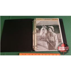 ROY ROGERS & DALE EVANS COLLECTOR CARD BINDER COLLECTION (OVER 170 Cards) Plus Litho, Cutout & 2 Pog