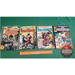 VARIETY VINTAGE COMICS – MARVEL & DC (4): BLITZKRIEG Vol. 1 #1 c.1976; SCALPHUNTER The Black Seer of