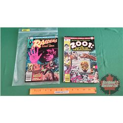 MARVEL COMICS (2): Raiders of the Lost Ark #1 c. 1981 ; 2001 A Space Odyssey #1 c.1976 (Please see p