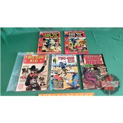 "WESTERN COMICS - MARVEL (5): TWO-GUN KID ""The Beginning of the Two-Gun Kid"" #60 c.1962; TWO-GUN KID"