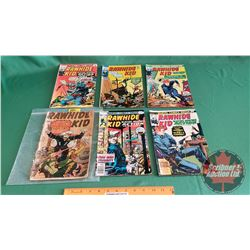 RAWHIDE KID – MARVEL COMICS (6): Shoot-Out with Rock Rorick #31 c.1962 ; Gunfight with Yerby's Yahoo