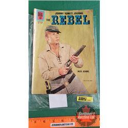 THE REBEL – DELL COMICS : The Martinet #1207 c.1961 (Please see pics for condition)