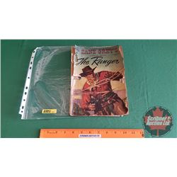 """ZANE GREY'S PICTURIZED EDITION """"THE RANGER"""" #255 c.1949 (Please see pics for condition)"""