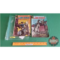 THE LONE RANGER – GOLD KEY (2):  Silver Condemned #19 c.1974; Detour #26 c. 1976 (Please see pics fo