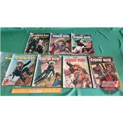 THE CISCO KID – DELL COMICS (7): and The Petticoat Marker #20c.1954; and The Stockmen of Longhorn #1