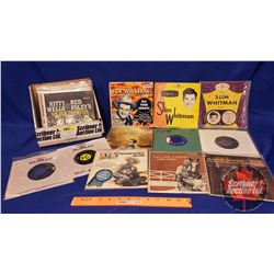 Collection of 45's (Incl: Tex Williams, Wilf Carter, Hank Snow, Kitty Wells, Johnny Horton, etc) (22