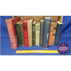 Old Hardcover Books c.1903 - 1950's  (12): Mystery Ranch, Tom Swift and his Talking Pictures, The Wo