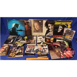 Johnny Cash Collector Combo: Books, LP's, DVD's, CD's (See Pics for Variety/Titles)