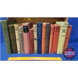Hardcover Book Collection (14): Black Beauty, The Short Cut, The Virginian, Robin Hood, etc (See Pic