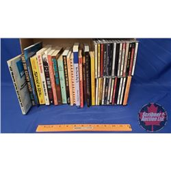Country Music Book & CD Combo (Books incl: George Jones, Jimmie Rodgers, Chet Atkins, Bill Monroe (a