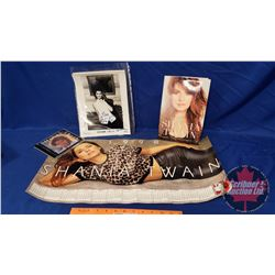 """Shania Twain Collector Combo: CD, Autographed Photo (Oct '93), Promo Picture, """"From This Moment On"""""""