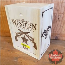 The Definitive TV Western Collection - 600 Television Episodes (Wooden Box with Episode Guide & DVD'