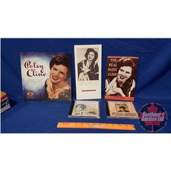 Patsy Cline Collector Combo: 3 Books & 2 CD's (See Pics)