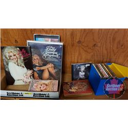 Dolly Parton Collector Combo: CD's (10) & Books (4) (See Pics for Titles)