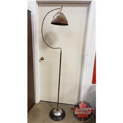 Industrial Style Floor Lamp (Needs Rewiring) Vintage Décor Piece (76 H)