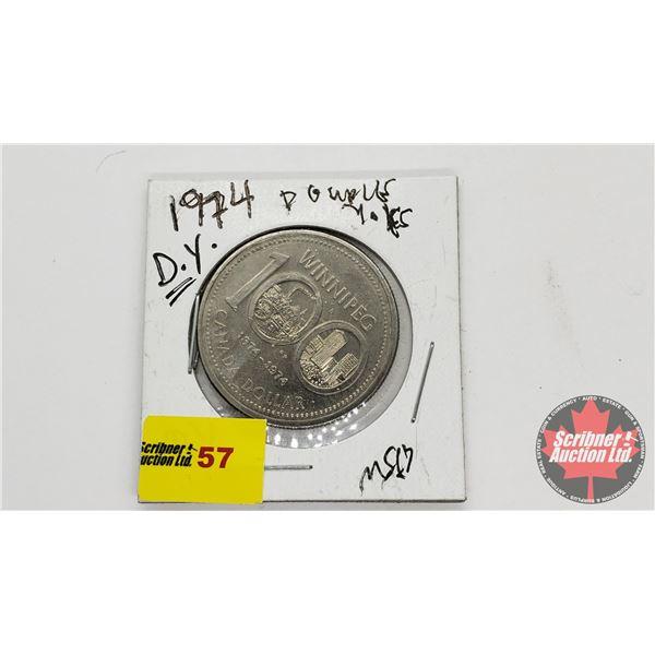 Canada One Dollar 1974 DY