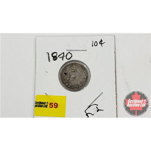 Canada Ten Cent 1870