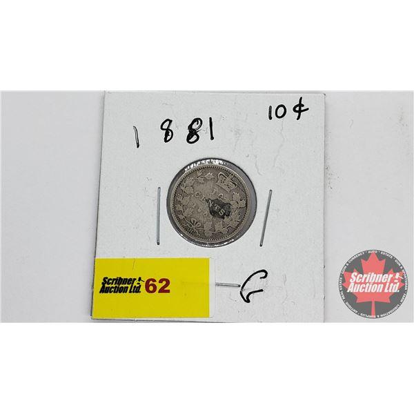 Canada Ten Cent 1881