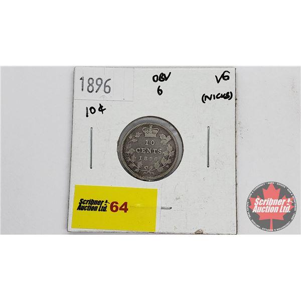 Canada Ten Cent 1896