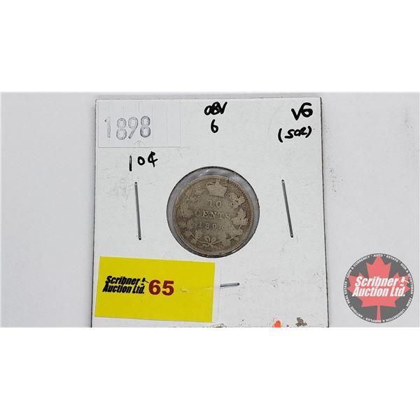Canada Ten Cent 1898
