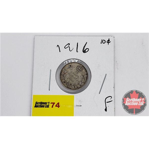 Canada Ten Cent 1916
