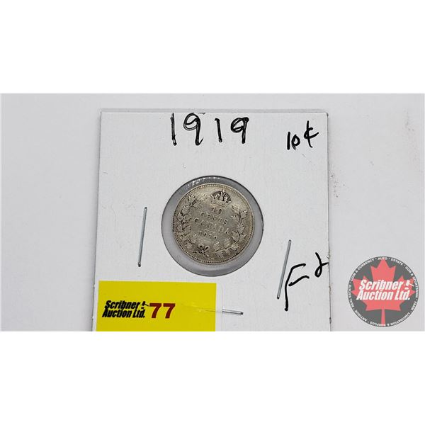 Canada Ten Cent 1919