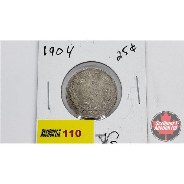 Canada Twenty Five Cent 1904