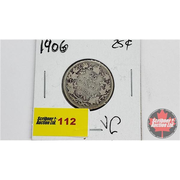 Canada Twenty Five Cent 1906
