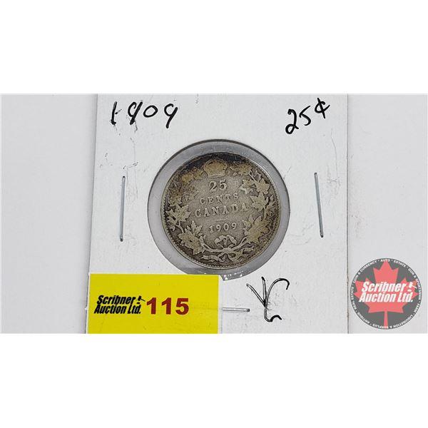 Canada Twenty Five Cent 1909