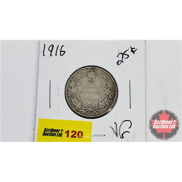 Canada Twenty Five Cent 1916