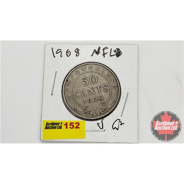 Newfoundland Fifty Cent 1908