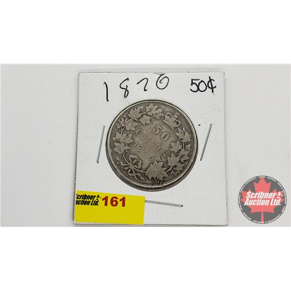 Canada Fifty Cent 1870