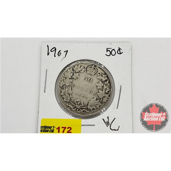 Canada Fifty Cent 1907