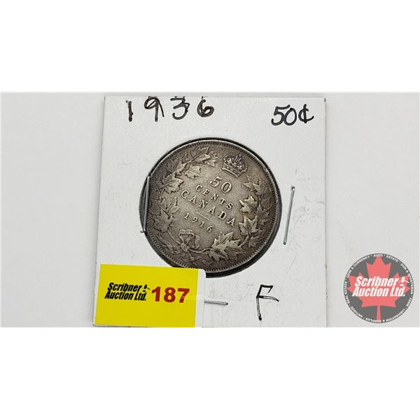 Canada Fifty Cent 1936