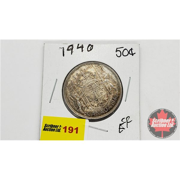 Canada Fifty Cent 1940