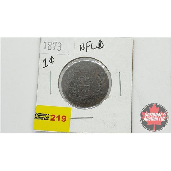 Newfoundland One Cent 1873