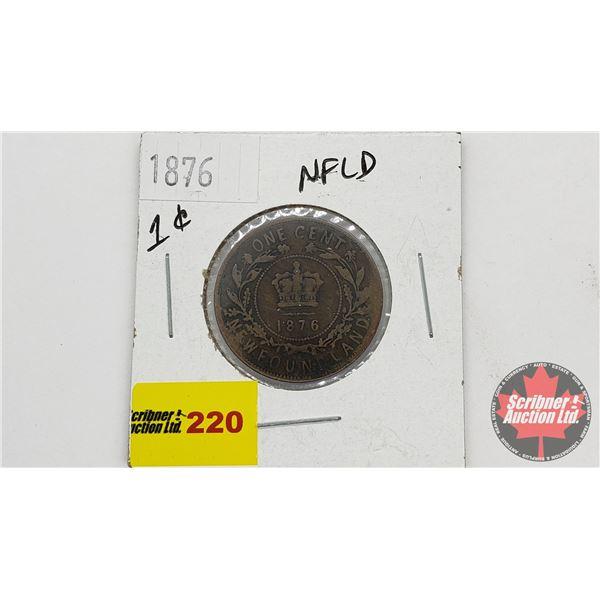 Newfoundland One Cent 1876