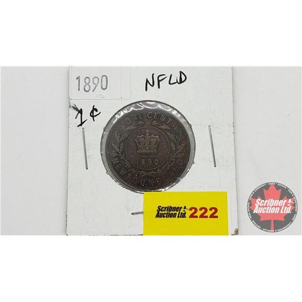 Newfoundland One Cent 1890