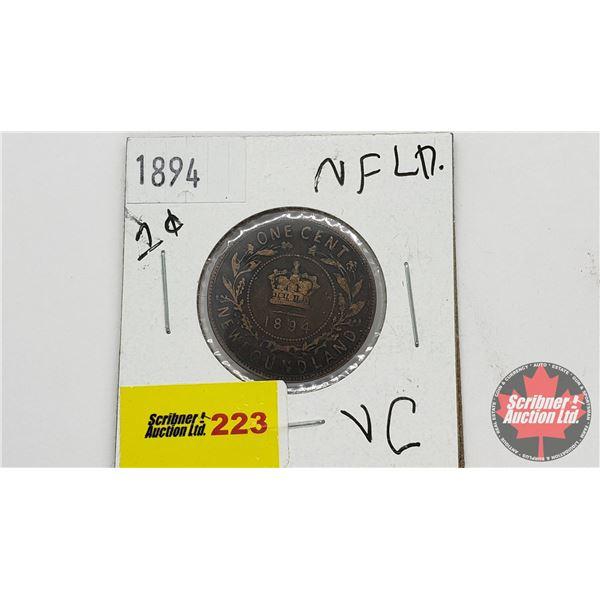 Newfoundland One Cent 1894