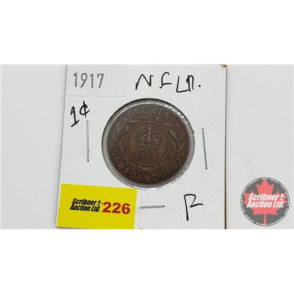 Newfoundland One Cent 1917