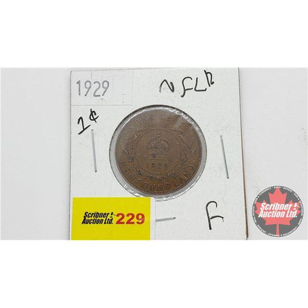 Newfoundland One Cent 1929