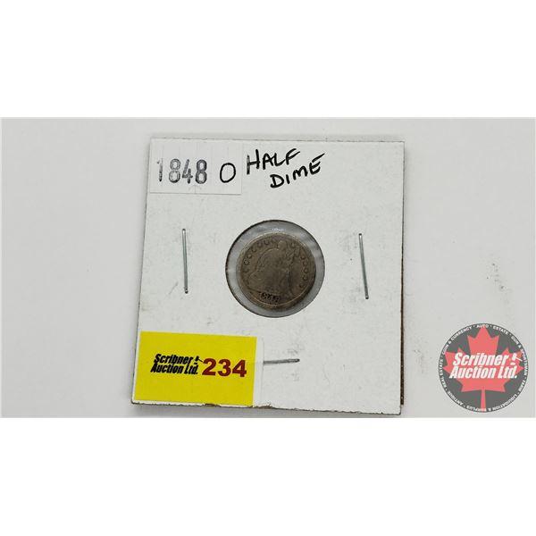USA Half Dime 1848O