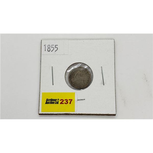 USA Half Dime 1855