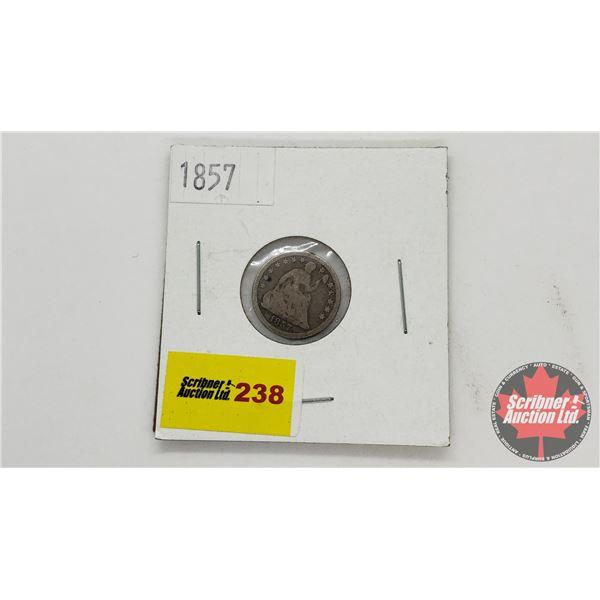 USA Half Dime 1857