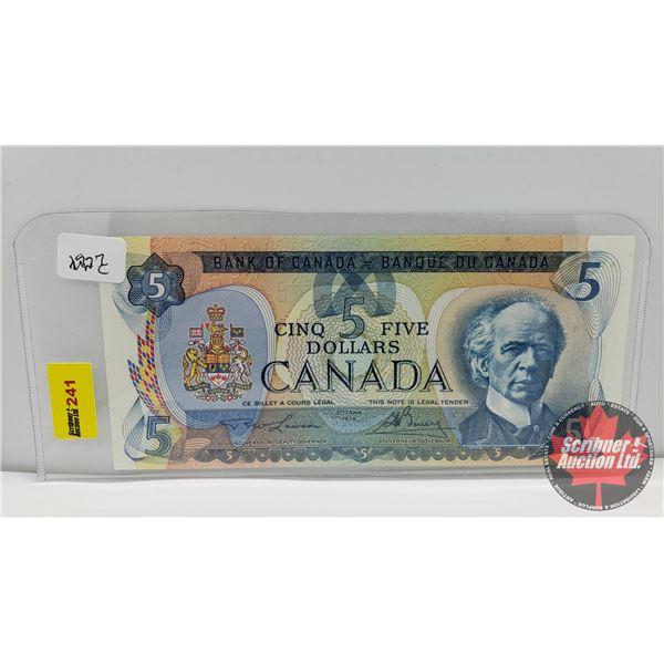 Canada $5 Bill 1979 : Lawson/Bouey 30046293307