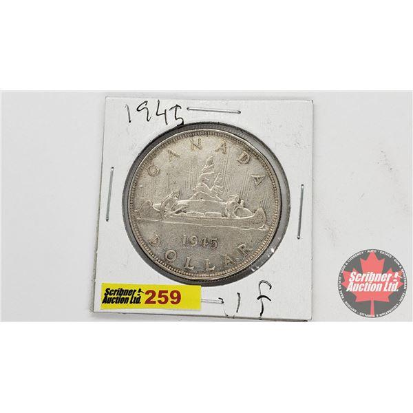 Canada Silver Dollar 1945