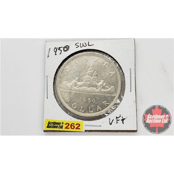 Canada Silver Dollar 1950SWL