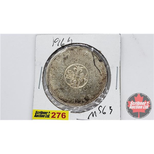 Canada Silver Dollar 1964